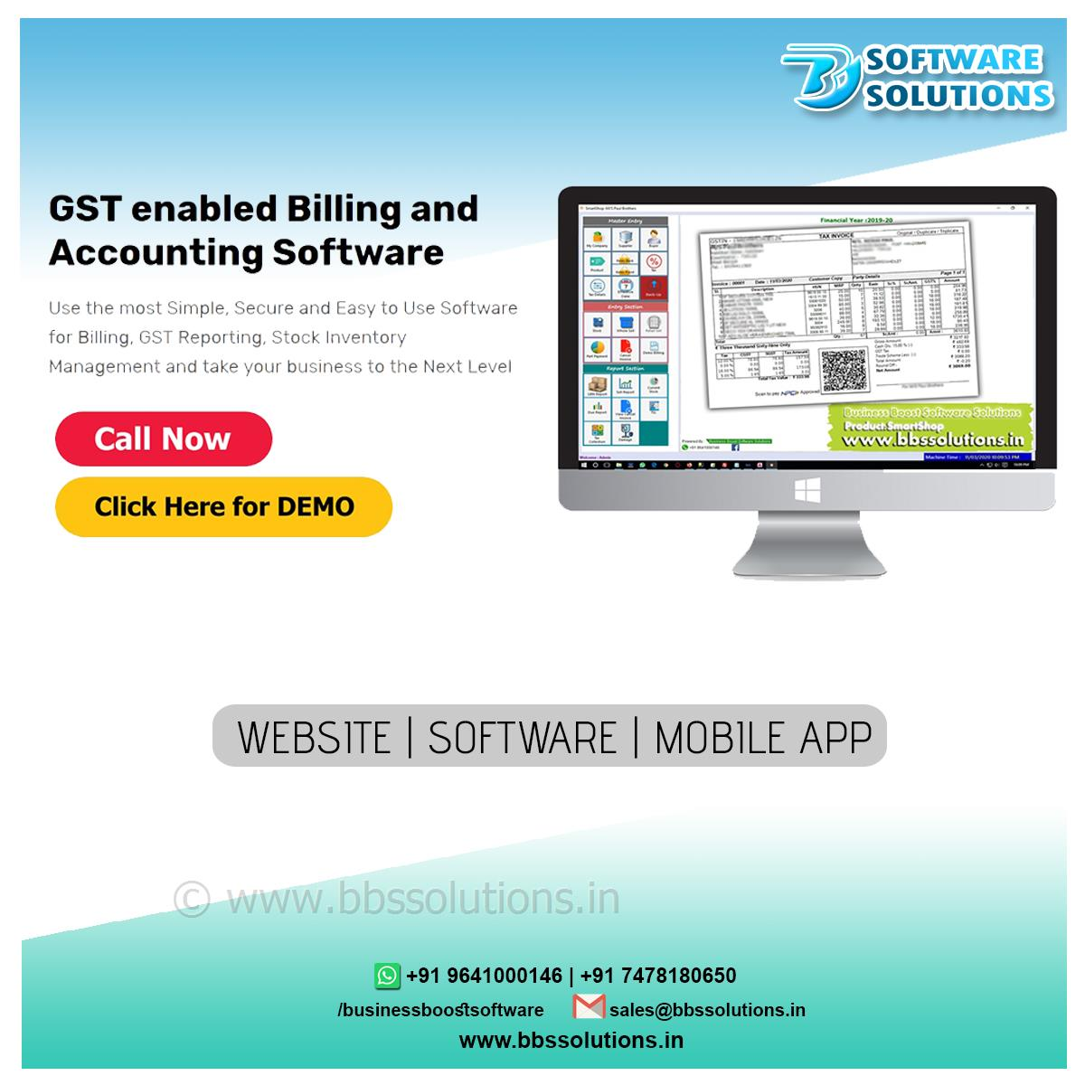 GST ENABLE software for distributor,wholesale,retail