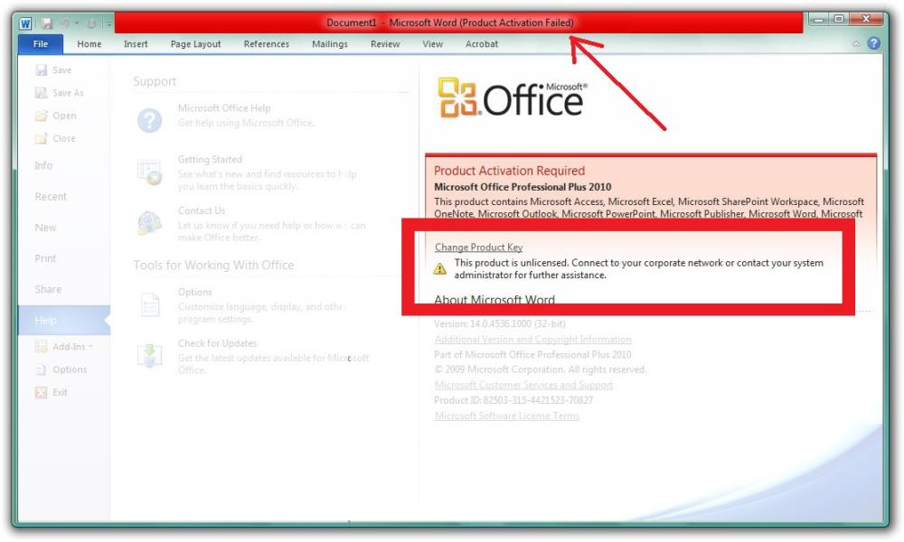 How to Activate Microsoft Office 2010 without Product Key for Free