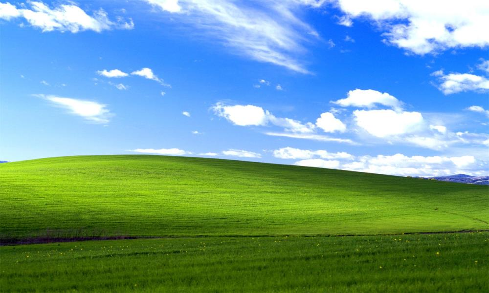 Microsoft Windows XP backgroung image history