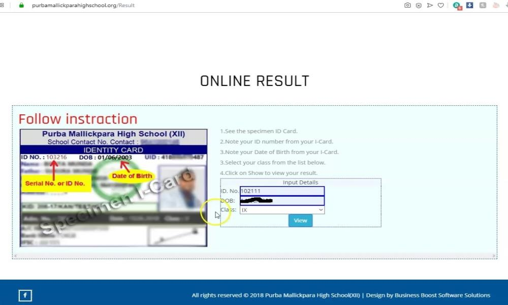 Purba Mallickpara High School(XII) Result 2019 View from Website... Purba Mallickpara High School(XII) Result 2019 View from Website... Purba Mallickpara High School(XII) Result 2019 View from Website...