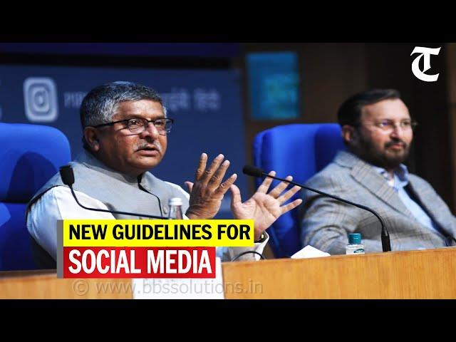 Govt sets strict guidelines for social media, OTT platforms: Key highlights | SOURCE : Economic Times